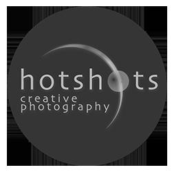 wedding portrait commercial photographers Hotshots Creative Photography Round Logo _wedding, portrait, commercial and drone photography
