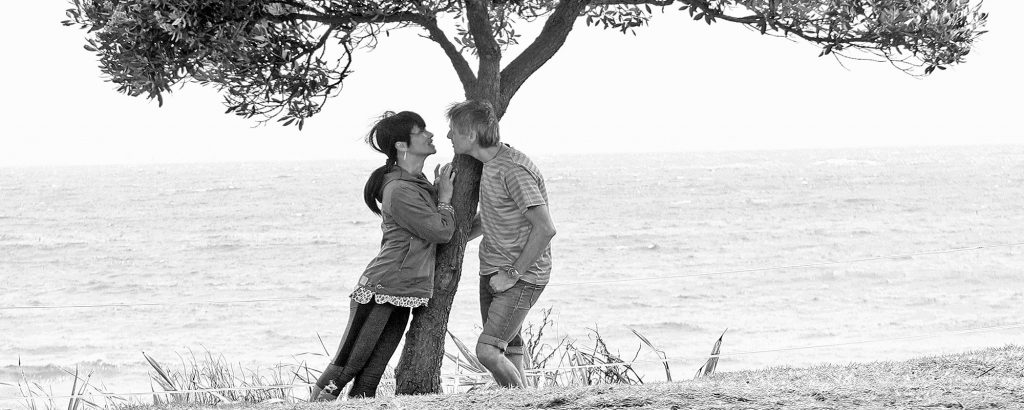 Engagement Shoot with Martin and Rebecca black and white photography
