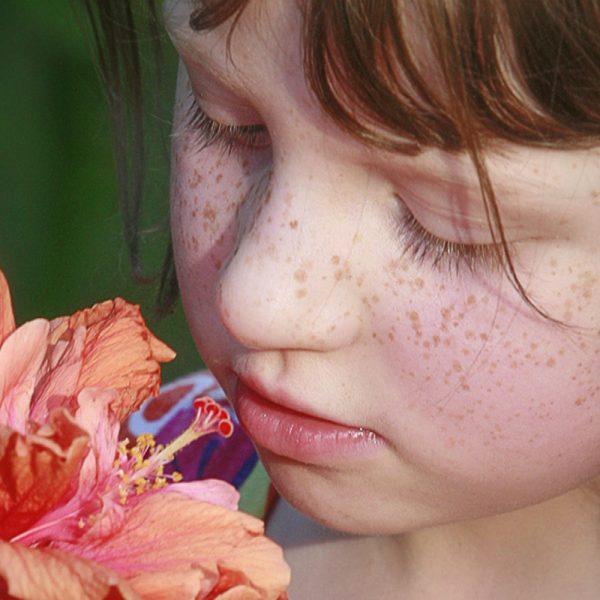 The beautiful child portrait at Hotshots outdoor studio