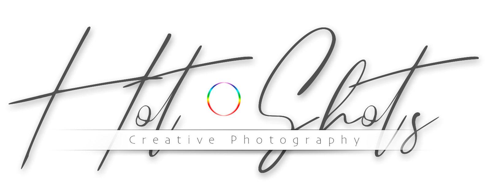 wedding portrait commercial photographers Hotshots Creative Photography Logotype